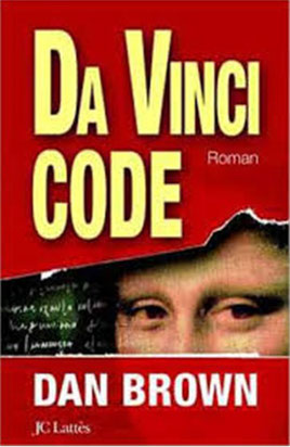 "Jaquette du ""Dan Vinci code"" de Dan Brown"