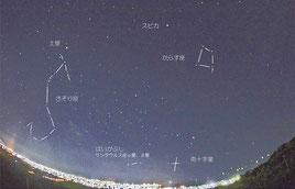 宮地さんが撮影した石垣島の満天の星空(8日夜)