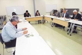ハーブフェスティバルIn八重山実行委員会が開かれた=19日午後、石垣港離島ターミナル