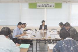 教育委員5人で構成される石垣市教育委員会(資料写真)=2014年8月撮影