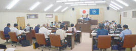 竹富町9月議会が始まり、町は17議案を上程した=4日、竹富町議会議場