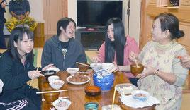 2014年には2732人の民泊者が石垣島を訪れた(2014年12月撮影)