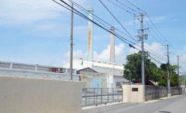 運用休止した石垣発電所。今後は非常災害対応機に=31日午後