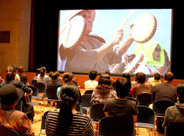 「第3回石垣島シネマフェスティバル」が開幕した=22日午後、石垣市民会館中ホール