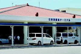 竹富町が期日前投票所を新設する計画を進めている=16日、離島ターミナル