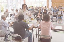 古典音楽コンクールの抽選会が行われた=20日、大川公民館