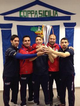Il Subbuteo Club Catania vincitore, per la sesta volta, della Coppa Sicilia a squadre