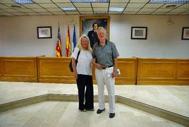 Familie Leopold für Blaskapelle Meeder unterwegs in Spanien