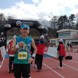 100キロマラソン完走 記録10時間13分