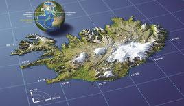 Islande - http://www.map-library.com/