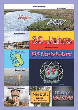 Cover Jubiläumsbroschüre 30 Jahre IPA Nordfriesland