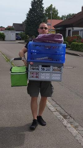 Einkaufstüten tragen Kettlebell Bodensee