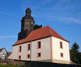 Die ersten beiden Seiten der Kirche sind fertiggestellt