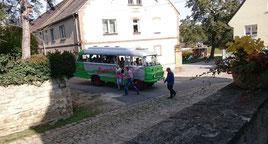 Shuttlebus von Großröda nach Dobraschütz