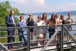 Exkursion im Studiengang Gesundheits- und Tourismusmanagement auf die Mettnau