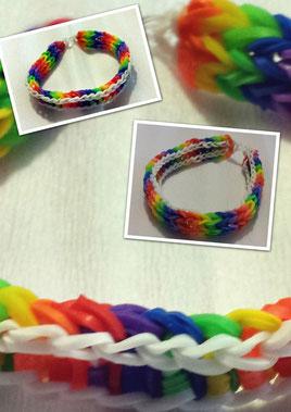 Rainbow Loom - Wendearmband