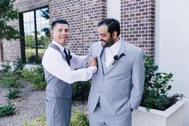 Trauzeuge, Bräutigam, Hochzeit, Helfende Hände