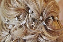 Haarschmuck bei der Hochzeit