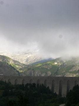 Vanoise : barrage, en direction du col d'Aussois - AU BOUT DES PIEDS