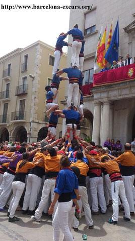 Castell - живая каталонская пирамида