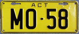Kennzeichen aus Australien