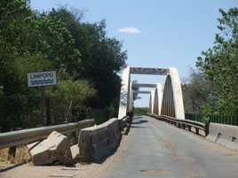 Botswana, Südafrika, Grenzübergang, Limpopo, Martinsdrift