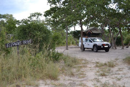 Botswana, Maun, Community Camp, Elefant Groove