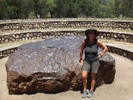 Namibia, Grootfontein, Hoba Meteorite
