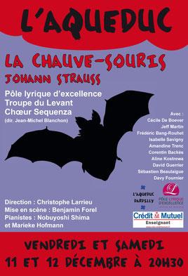 Affiche Chauve-souris Aqueduc Dardilly
