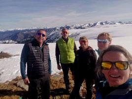 Randonnée hiver Canigou Pyrénées