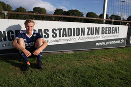 Flo Altemöller sorgte für das einzige Beben im Stadion