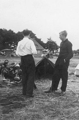 Foto:  Kreismuseum Syke; Camping am Dümmer in Lembruch