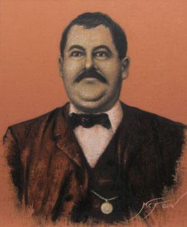 'El Vivillo' - 60 x 73 cms.