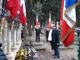 Cérémonies du 2 novembre 2019 à Montpellier