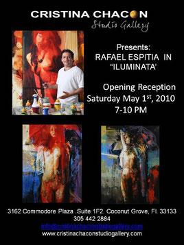 Cristina Chacon Gallery 3162 Commodore Plaza. Suit 1F2  Coconut Grove, Fl.