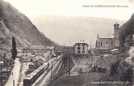 570-017 Verlag Fiorentini & Redaelli - Tirano. Karte ungelaufen