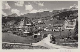 105-010b Verlag: G. Spini, St. Moritz, gelaufen 25.9.1934