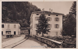515-011 Werbepostkarte des Hotel Le Prese, gelaufen 16.7.1941