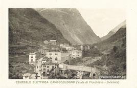 700-005 Verlag Tipografia e Caroleria di Fiorentini & C.o - Tirano. Karte ungelaufen