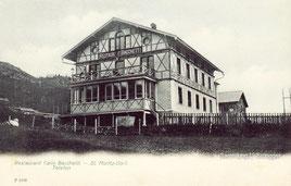 714-001 Verlag Vereinigte Kunstdruckerein Metz & Lautz G.m.b.H., Darmstadt. Karte gelaufen 7.9.1907