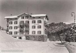 713-002 Photo & Verlag Albert Steiner, St. Moritz. Karte ungelaufen