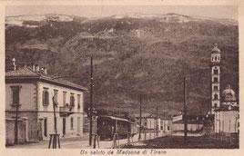 Verlag Edit. U. Trinca, Sondrio. Karte gelaufen 13.8.1928