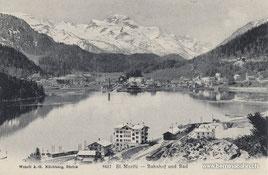 713-004 Verlag Wehrli A.G., Kilchberg, Zürich. Karte gelaufen am 12.7.1908