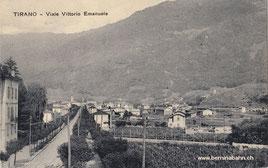 588-001 Verlag Fiorentini & Redaelli, Tirano. Karte gelaufen am 26.10.1922
