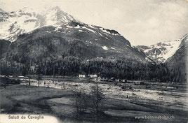 410-005 Verlag Sidney Semadeni, Poschiavo. Karte gelaufen 19.10.1914