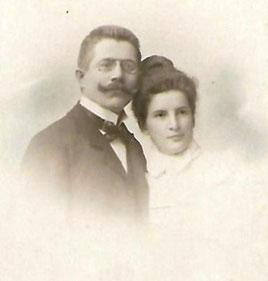 Daniel und Anna Katz (Hofphotograph van Bosch, Frankfurt am Main, Aufnahmedatum unbekannt)
