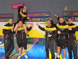 Österreichischer Mannschaftsrekord 3986 Kegel