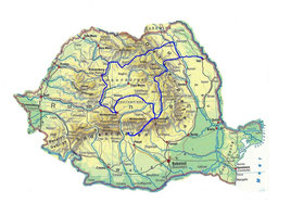 "Die ""Reiseroute""  (Karte: Archiv HGV/Maner)"