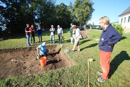Ausgrabungen am Frauenberg.