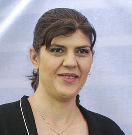 LAURA KÖVESI, Leiterin der Europäischen Staatsanwaltschaft